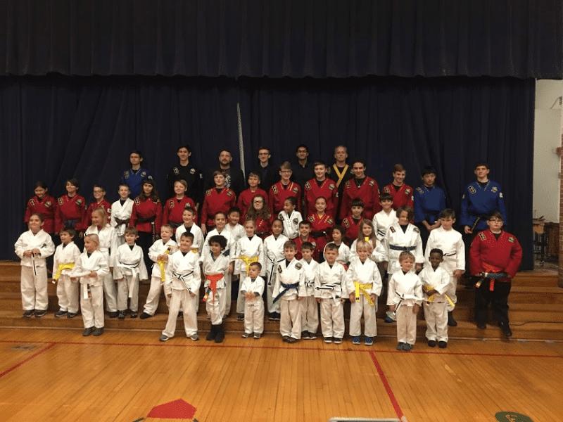 Kids, Kaizen Black Belt Academy Dexter MI