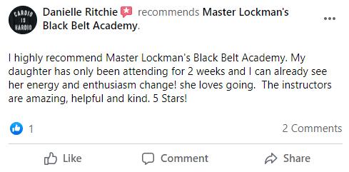Kids2, Kaizen Black Belt Academy Dexter MI