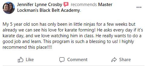 Kids4, Kaizen Black Belt Academy Dexter MI